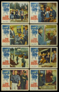 """Movie Posters:War, The Great Escape (United Artists, 1963). Lobby Card Set of 8 (11"""" X14""""). War.... (Total: 8 Items)"""