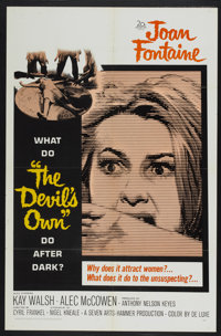 "The Devil's Own (20th Century Fox, 1967). One Sheet (27"" X 41""). Horror"