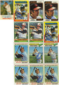 Autographs:Sports Cards, Brooks Robinson Signed Baseball Cards Lot of 13. The life-longBaltimore Oriole and member of the Hall of Fame has added hi...