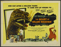 "Movie Posters:Science Fiction, The Beast of Hollow Mountain (United Artists, 1956). Half Sheet(22"" X 28""). Science Fiction...."