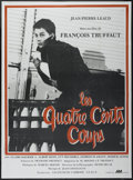 "Movie Posters:Foreign, The 400 Blows (Cocinor, R-1979). French Grande (46"" X 62""). Foreign...."
