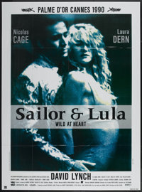 """Wild at Heart (BAC Films, 1990). French Grande (46"""" X 62""""). Crime"""
