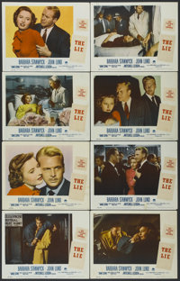 "No Man of Her Own (Paramount, 1950). Lobby Card Set of 8 (11"" X 14""). Released as The Lie in Australia. Film N..."