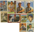 Autographs:Sports Cards, 1948-1956 Autographed Baseball Cards Lot of 37. A group ofthirty-seven signed baseball cards. Cards ranging from 1948 Bowm...