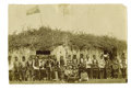 Military & Patriotic:Indian Wars, Unmounted Photograph of Osage War Dance, early 1880s....