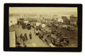 """Photography:Cabinet Photos, Imperial Size Photograph """"Oklahoma Avenue"""" (Guthrie), IndianTerritory ca 1890s...."""