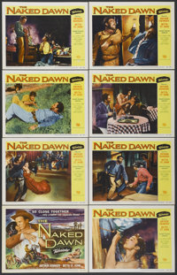 """The Naked Dawn (Universal, 1955). Lobby Card Set of 8 (11"""" X 14""""). Western.... (Total: 8 Items)"""