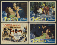 "Tap Roots (Universal, 1948). Title Lobby Card and Lobby Cards (3) (11"" X 14""). Drama.... (Total: 4 Items)"