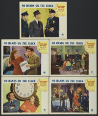 """No Hands on the Clock (Paramount, 1941). Lobby Cards (5) (11"""" X 14""""). Mystery.... (Total: 5 Items)"""