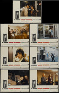 "Movie Posters:Action, Dog Day Afternoon (Warner Brothers, 1975). Lobby Cards (7) (11"" X14""). Action.... (Total: 7 Items)"
