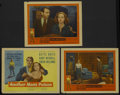 "Movie Posters:Crime, Another Man's Poison (United Artists, 1952). Title Lobby Card andLobby Cards (2) (11"" X 14""). Crime.... (Total: 3 Items)"