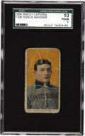 "Baseball Cards:Singles (Pre-1930), 1909-11 T206 Honus Wagner SGC 10 Poor 1. ""There is somethingLincolnesque about him,"" Pulitzer Prize-winning sports journal..."