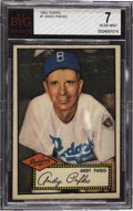 Baseball Cards:Singles (1950-1959), 1952 Topps Andy Pafko #1 BVG NM 7. As the lead card in the landmark1952 Topps set, it is difficult to find a high grade exa...