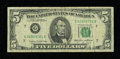 Error Notes:Ink Smears, Fr. 1978-G $5 1985 Federal Reserve Note. Fine-Very Fine.. ...