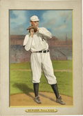 Baseball Cards:Singles (Pre-1930), 1911 T3 Turkey Red Cabinets Chief Bender #80. From the celebratedT3 Turkey Red Cabinets issue we offer this fine Hall of F...