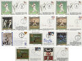 Autographs:Others, Baseball Stars Signed First Day Covers Lot of 11. Eleven sweetsignatures from former Major League stars. Includes signed...