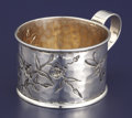 Silver Holloware, American:Cups, AN AMERICAN SILVER MUG. George W. Shiebler & Co., New York, NewYork, circa 1890. Marks: (winged S), STERLING, 314,THEODO...