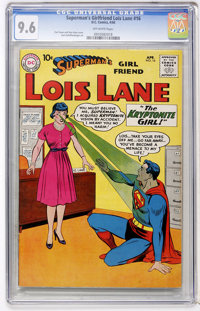Superman's Girl Friend Lois Lane #16 (DC, 1960) CGC NM+ 9.6 Off-white pages