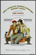 "Movie Posters:Crime, The Sting (Universal, 1974). One Sheet (27"" X 41"") Tri-Folded.Crime...."