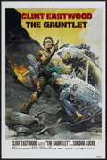 """Movie Posters:Action, The Gauntlet (Warner Brothers, 1977). One Sheet (27"""" X 41"""") Tri-Folded. Action...."""