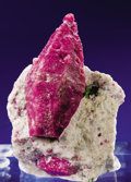Minerals:Cabinet Specimens, RUBY CORUNDUM CRYSTAL IN MATRIX. ...