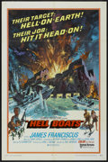 "Movie Posters:War, Hell Boats (United Artists, 1970). One Sheet (27"" X 41""). War...."