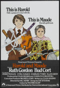"""Movie Posters:Comedy, Harold and Maude (Paramount, 1971). British One Sheet (27"""" X 40"""")Tri-Folded. Comedy...."""