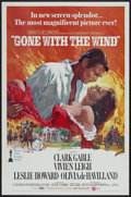 "Movie Posters:Academy Award Winner, Gone with the Wind (MGM, R-1974). One Sheet (27"" X 41"") Tri-Folded. Academy Award Winner...."
