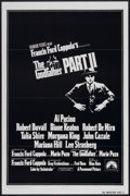 "Movie Posters:Academy Award Winner, The Godfather Part II (Paramount, 1974). One Sheet (27"" X 41"")Tri-Folded. Academy Award Winner...."