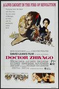 "Movie Posters:Drama, Doctor Zhivago (MGM, R-1971). One Sheet (27"" X 41"") Tri-Folded. Drama...."