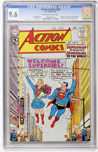 Action Comics #285 (DC, 1962) CGC NM+ 9.6 Off-white to white pages