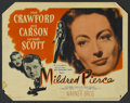 "Movie Posters:Film Noir, Mildred Pierce (Warner Brothers, 1945). Title Lobby Card (11"" X 14""). Film Noir...."