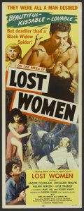 "Movie Posters:Science Fiction, Mesa of Lost Women (Howco, 1953). Insert (14"" X 36""). Science Fiction...."