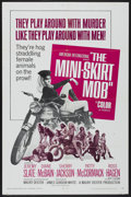 """Movie Posters:Action, The Mini-Skirt Mob (American International, 1968). One Sheet (27"""" X 41""""). Action...."""