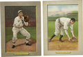 Baseball Cards:Lots, 1911 T3 Turkey Red Cabinets #90 Mickey Doolan & #123 Ira ThomasGroup Lot of 2. Two quality entries from the desirable T3 T...
