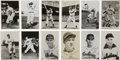 Autographs:Post Cards, Cleveland Indians Single Signed Postcards Lot of 31. Judging from the postmark on the back of some of the postcards, these ...