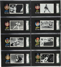 1971 Topps Baseball Greatest Moments Complete Set . A complete, 55-card set of 1971 Topps Greatest Moments series is pre...