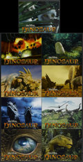 "Movie Posters:Animated, Dinosaur (Buena Vista, 2000). Lobby Card Set of 9 (11"" X 14"").Animated.... (Total: 9 Items)"
