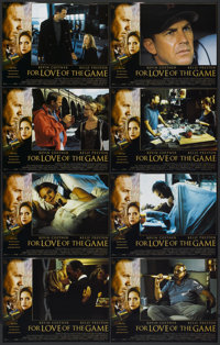 """For Love of the Game (Universal, 1999). Lobby Card Set of 8 (11"""" X 14""""). Sports.... (Total: 8 Items)"""