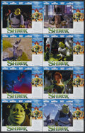"""Movie Posters:Animated, Shrek (DreamWorks, 2001). Lobby Card Set of 8 (11"""" X 14""""). Animated.... (Total: 8 Items)"""
