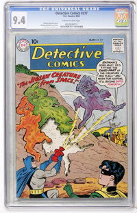 Detective Comics #277 (DC, 1960) CGC NM 9.4 Cream to pink pages
