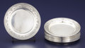 Silver & Vertu:Hollowware, A SET OF TWELVE AMERICAN SILVER BREAD PLATES. International Silver Co., Meriden, Connecticut, circa 1933. Marks: (S in shiel... (Total: 12 Items)