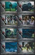 "Movie Posters:Science Fiction, Jurassic Park III (Universal, 2001). Lobby Card Set of 8 (11"" X 14""). Science Fiction.... (Total: 8 Items)"