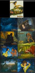 "Movie Posters:Animated, Tarzan (Buena Vista, 1999). Lobby Card Set of 9 (11"" X 14"").Animated.... (Total: 9 Items)"