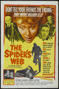 "Movie Posters:Mystery, The Spider's Web (United Artists, 1961). One Sheet (27"" X 41"").Mystery...."