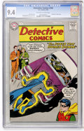 Silver Age (1956-1969):Superhero, Detective Comics #268 (DC, 1959) CGC NM 9.4 Off-white to white pages....