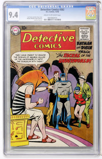 Detective Comics #262 (DC, 1958) CGC NM 9.4 Cream to off-white pages
