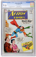 Silver Age (1956-1969):Superhero, Action Comics #260 (DC, 1960) CGC NM+ 9.6 Off-white to white pages....