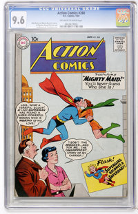 Action Comics #260 (DC, 1960) CGC NM+ 9.6 Off-white to white pages