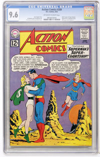 Action Comics #289 (DC, 1962) CGC NM+ 9.6 Off-white to white pages